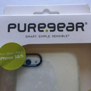 PureGear iPhone 5/5S Soft Shell Case WHITE